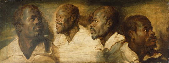 Painting in the Getty Collection by Rubens